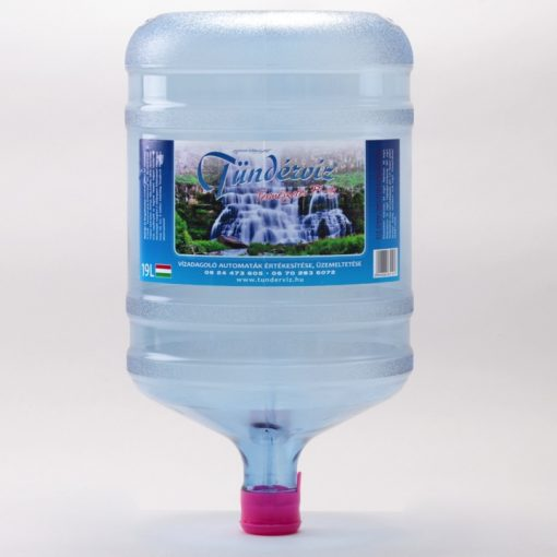 Pi víz 19 literes ballonban